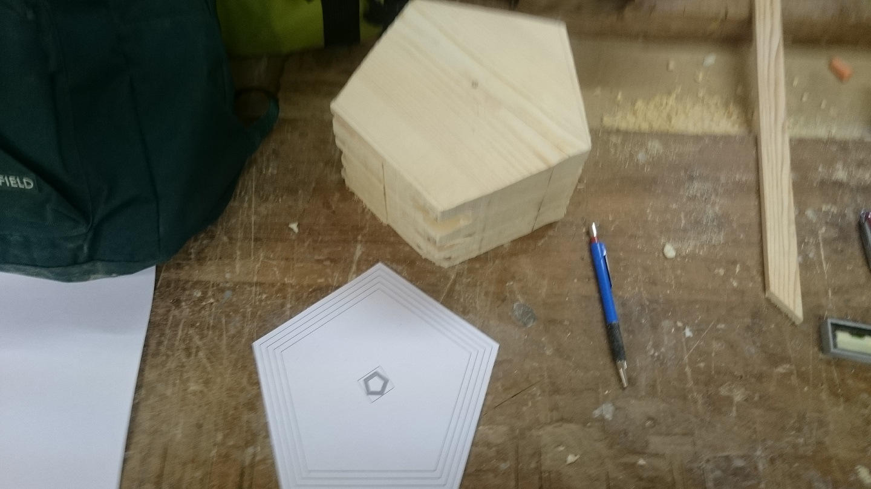 bloque macizo de madera